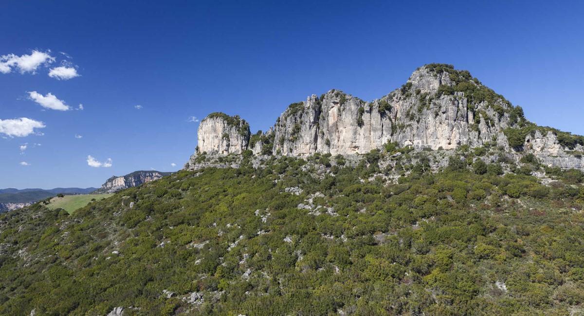 The heels of Ogliastra Agriturismo Su Solianu
